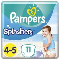 Πάνες-Μαγιό Pampers Splashers No 4-5, 11τμχ (9-15kg)