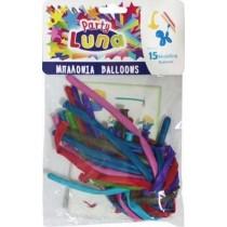 Μπαλόνια Μακρόστενα 160x5εκ 15τμχ