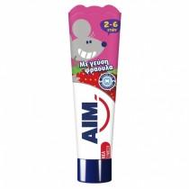 ΑΙΜ Οδοντόκρεμα Kids 2-6 Ετών Φράουλα 50ml