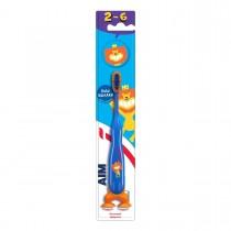 AIM Παιδική Οδοντόβουρτσα 2-6 Ετών Μπλε