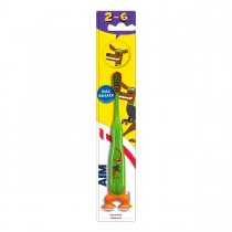 AIM Παιδική Οδοντόβουρτσα 2-6 Ετών Πράσινη