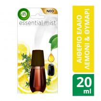 Airwick Essential Mist Ανταλλακτικό Λεμόνι & Θυμάρι 20ml