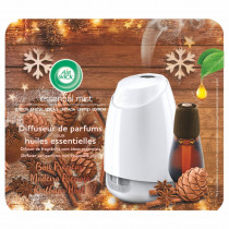 Airwick Essential Mist Συσκευή & Ανταλλακτικό Σανδαλόξυλο, Κεχριμπάρι & Μπαχαρικά 20ml