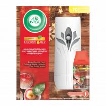 Airwick Συσκευή με Αρωματικό Χώρου Freshmatic Καραμελωμένα Μήλα & Μπαχαρικά (250ml)