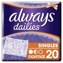 Always Σερβιετάκια Dailies Singles Normal 20τεμ