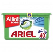 Ariel Απορρυπαντικό Κάψουλες Υπερσυμπυκνωμένες Pods 3in1 Alpine 40τμχ