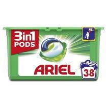 Ariel Απορρυπαντικό Κάψουλες Υπερσυμπυκνωμένες Pods 3in1 Original 38τμχ