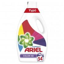 Ariel Υγρό Απορρυπαντικό Color HD 2,97 L (54 Πλύσεις)