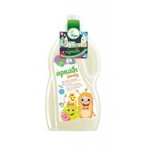 Αρκάδι Family Υγρό Απορρυπαντικό Ρούχων με Λευκό Σαπούνι 3lt (50μεζ)