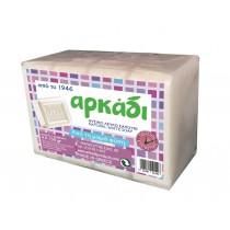 Αρκάδι Λευκό Σαπούνι σε Πλάκες 4x150gr