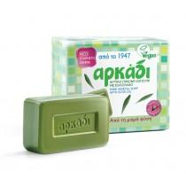 Αρκάδι Πράσινο Σαπούνι σε Πλάκες 4x150gr