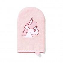 BabyOno Βαμβακερό Γάντι Καθαρισμού για το Μπάνιο Ροζ