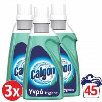Calgon Αποσκληρυντικό Νερού Πλυντηρίου Ρούχων Hygiene Plus Gel 3x750ml