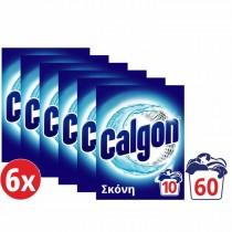 Calgon Αποσκληρυντικό Νερού Πλυντηρίου Ρούχων Σκόνη 6x500gr