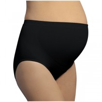 Carriwell Κιλότα Εγκυμοσύνης Χωρίς Ραφές για Ελαφριά Υποστήριξη Light Support Panties Μαύρη Medium