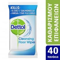Dettol Αντιβακτηριδιακά Μαντηλάκια Καθαρισμού Επιφανειών 40τμχ
