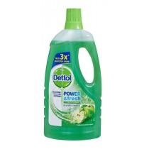 Dettol Καθαριστικό Πατώματος Αντιβακτηριδιακό Πράσινο Μήλο 1lt