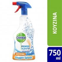 Dettol Πολυκαθαριστικό Spray Κουζίνας Oxygen Splash 500ml+250ml ΔΩΡΟ
