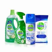 Dettol Σετ Υγιεινής Καθαριότητας Σπιτιού