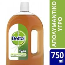 Dettol Υγρό Απολυμαντικό Επιφανειών 750ML