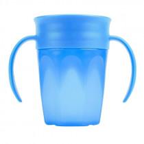 Dr. Brown's Κύπελλο 360° με Λαβές Μπλε 200ml