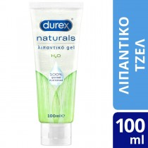 Durex Naturals Ενυδατικό Λιπαντικό Gel με 100% Φυσικά Συστατικά 100ml