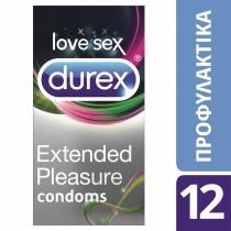Durex Προφυλακτικά Extended Pleasure 12τμχ