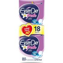EveryDay Σερβιέτες Fresh Ultra Plus Maxi Night 18τεμ