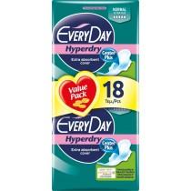 EveryDay Σερβιέτες Hyperdry Ultra Plus Normal 18τεμ