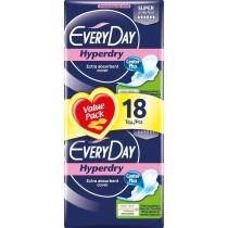 EveryDay Σερβιέτες Hyperdry Ultra Plus Super 18τεμ