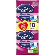 EveryDay Σερβιέτες Hyperdry Ultra Plus Maxi Night 18τεμ