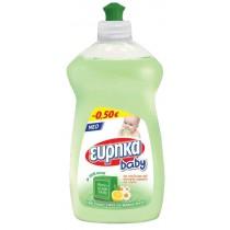 Εύρηκα Baby Υγρό Πιάτων μς Πράσινο Σαπούνι 500ml