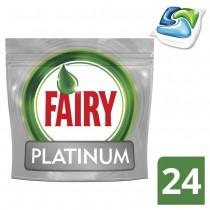 Fairy Platinum Κάψουλες Πλυντηρίου Πιάτων 24τμχ