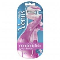 Gillette Venus ComfortGlide Spa Breeze Γυναικεία Ξυριστική Μηχανή & 2 Ανταλλακτικά