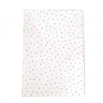 Jabadabado Πλαστικό Τραπεζομάντηλο Λευκό Confetti 130x80 εκ.