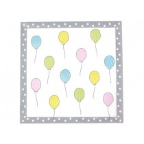 Jabadabado Χαρτοπετσέτες Balloons 20τμχ