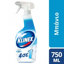 Klinex Απολυμαντικό Καθαριστικό Spray 4 Σε 1 Για το Μπάνιο 750ml