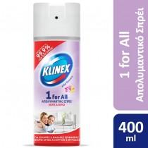 Klinex Απολυμαντικό Σπρέι 1 for Wild Flowers 400ml