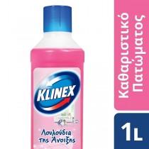 Klinex Καθαριστικό Πατώματος με Αιθέρια Έλαια Ανοιξιάτικο Μπουκέτο 1lt