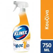 Klinex Καθαριστικό Spray 4 σε 1 για τη Κουζίνα 750ml