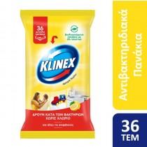 Klinex Υγρά Πανάκια Καθαρισμού Λεμόνι 36τμχ