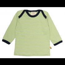 Loud+Proud Μακρυμάνικη Μπλούζα από Οργανικό Βαμβάκι Πράσινο 0-6 μηνών