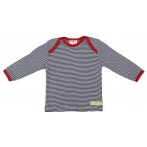 Loud+Proud Μακρυμάνικη Μπλούζα από Οργανικό Βαμβάκι Μπλέ 6-12 μηνών