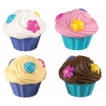 Munchkin Σετ 4 Μπουγελόφατσες Cupcake