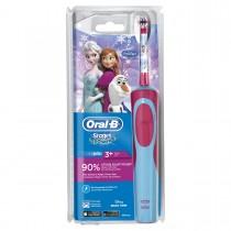 Oral B Παιδική Ηλεκτρική Επαν/ζόμενη Οδοντόβουρτσα Vitality Stages Power Frozen 3+ Ετών