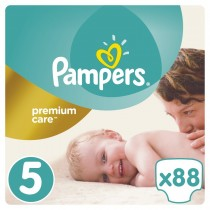 Πάνες Pampers Premium Care Νο 5 Mega Box 88τμχ (11-16kg)