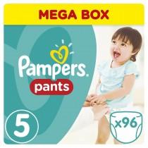 Πάνες Βρακάκι Pampers Pants Mega Box 96τμχ Νο 5 (12-18kg)