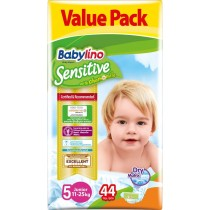 Πάνες Babylino Sensitive No5 (11-25Kg) Value Pack 44τμχ