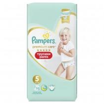 Πάνες Βρακάκι Pampers Premium Care Pants Νο 5 Jumbo Pack 52τμχ (12-17+kg)