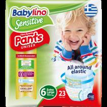 Πάνες Βρακάκι Babylino Pants No6 Carry Pack 23τμχ (15+Kg)